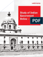 Webchutney Study of Indian Government Online 2009