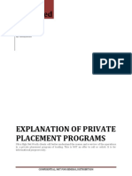 Private Placement Trade Programs Explained