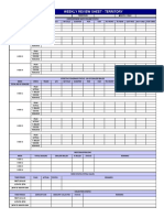 3. Weekly Review Sheet