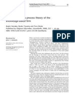 10.Managing Flow a Proces Theory of the Knowledge Based Firm