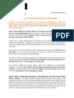 Kantar Media - SIMM-TGi Les français et le multimédia
