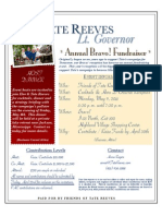 Tate Reeves Annual Fundraiser