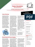 Easter Newsletter 2011
