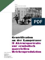 Gentrification an Der Langstrasse