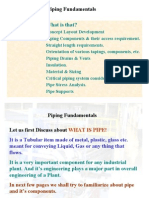 Basic of Piping- Fittings