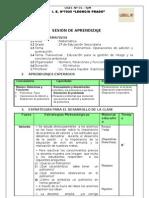 SESION de APRENDIZAJE Polinomios -Operaciones Nuevo