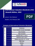 International Valuation Standards 7