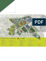 Plan Campus La Gaillarde 2011