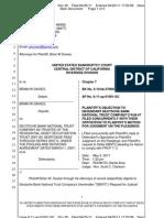 Doc 30 Plaintiffs Objection To