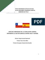 analisis comparado de la legislacion chile-españa