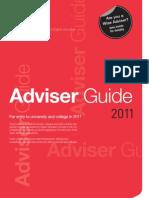 Adviser Guide 2011
