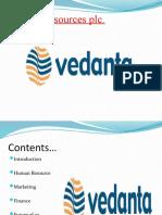 Vedanta Resources Plc