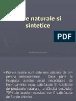 Fibre Naturale Si Sintetice