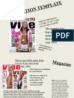 Magazine Study