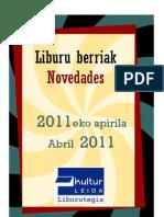 2011ko apirila - Abril 2011