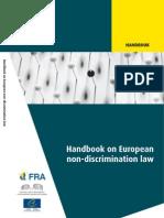 `Manual de derecho europeo antidiscriminación´- 2010