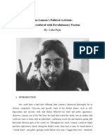 John Lennon's Political Activism (Luka Pejić)
