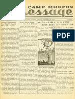 Camp Murphy Message, November 26, 1943