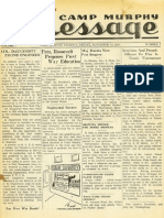 Camp Murphy Message, November 12, 1943