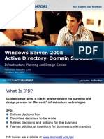 IPD - Active Directory Domain Services Version 2.0