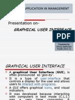 Presentation on GUI