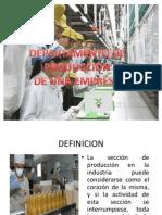 DEPARTAMENTO DE PRODUCCION