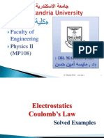 Solved Problems- Electrostatics