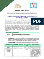 Directiva 054-2011 ILA Curso GADS 2011