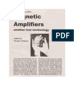 Magnetic Amplifiers