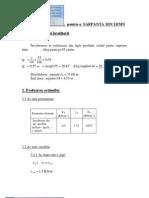 exemplu calcul sarpanta