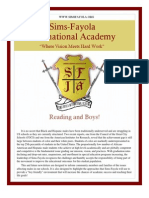 Sims-Fayola International Academy Newsletter