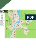 Golf Guide Metro Map