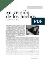 MUCA-Mi Version de Los Hechos-Magali Lara