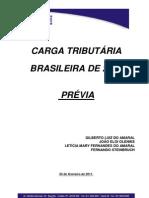 Carga Tributária Brasileira 2010