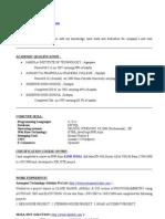 GOUTAM Resume