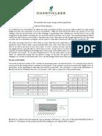 Chanticleer Investors II - Q1 2011 Letter to Investors
