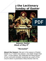 Living the Lectionary - Third Sunday of Easter