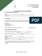 COPM Form