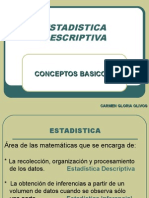 ESTADISTICA DESCRIPTIVA-CONCEPTOS