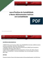 Aula 8 Teoria Positiva Da Contabilidade Novos Delineamentos Teoricos