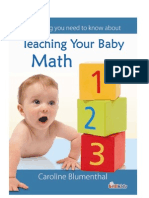 Teaching Baby Math