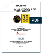 2010 Speed Study