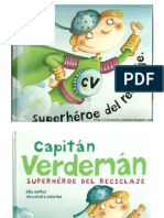 Superhéroe del reciclaje - Libro infantil