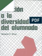 Atención a la diversidad del alumnado Escrito por Margaret C. Wang