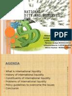 International Liquidity and Reserve Problems - Copy