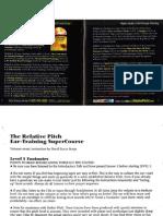 Relative Pitch Ear Training by David Lucas Burge (Manual)