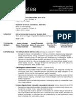 RachelMetea Resume