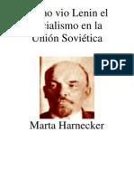 Como Lenin Vio El Socialismo en La Union Sovietica
