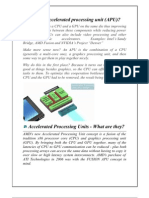 What is an Accelerated Processing Unit