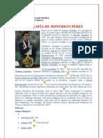 BIOGRAFÍA DE JEFFERSON PÉREZ